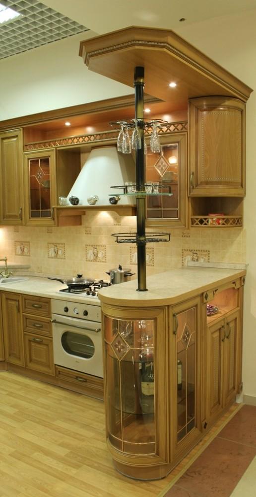 Классические кухни-Кухня из массива «Модель 127»-фото14