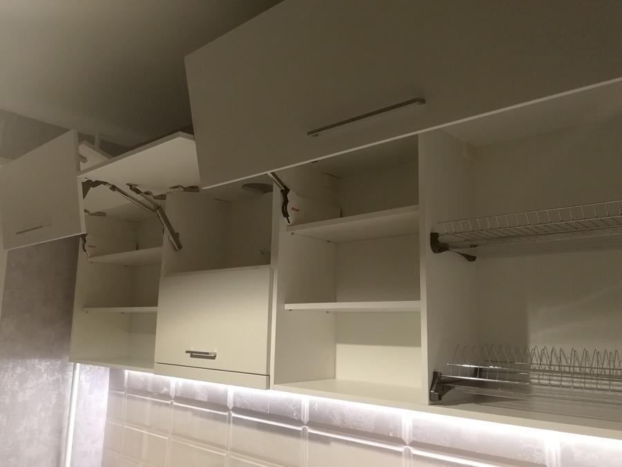 Купить зеленую кухню-Кухня МДФ в пластике «Модель 19»-фото7