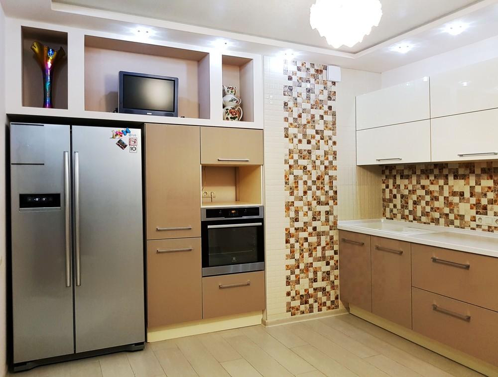 Акриловые кухни-Кухня из акрила «Модель 298»-фото3