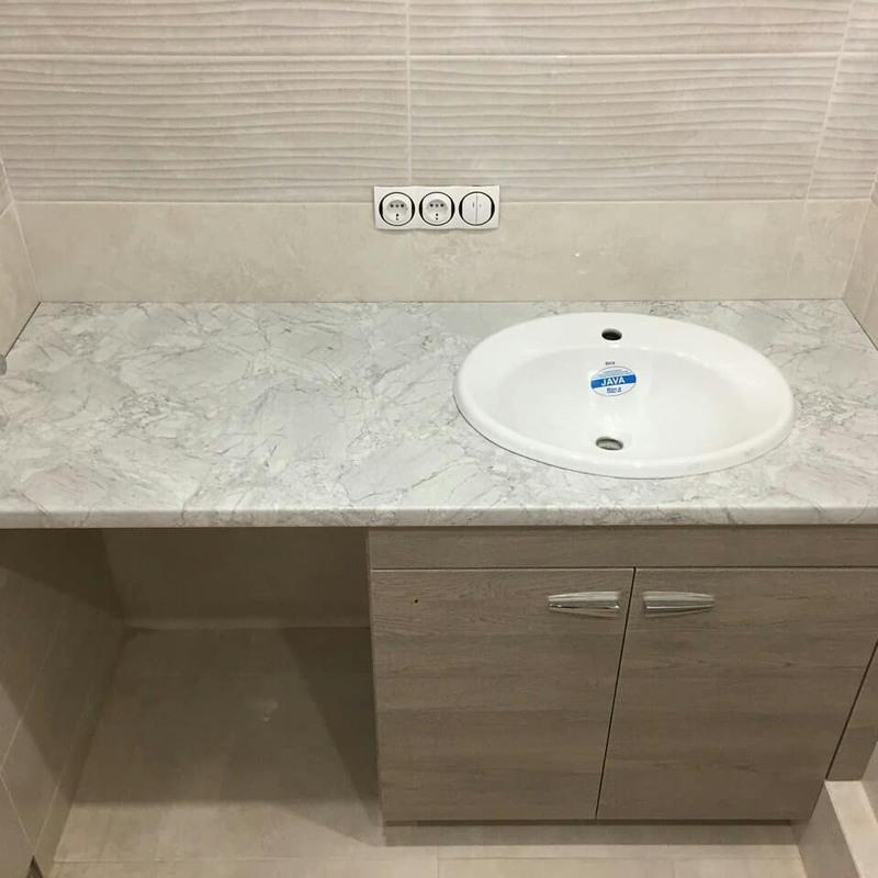 Мебель для ванной комнаты-Мебель для ванной «Модель 57»-фото1
