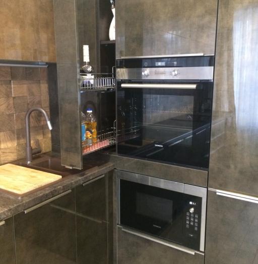 -Кухня из пластика «Модель 113»-фото4