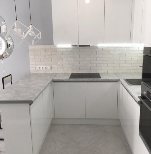 -Кухня МДФ в эмали «Модель 431»-фото9