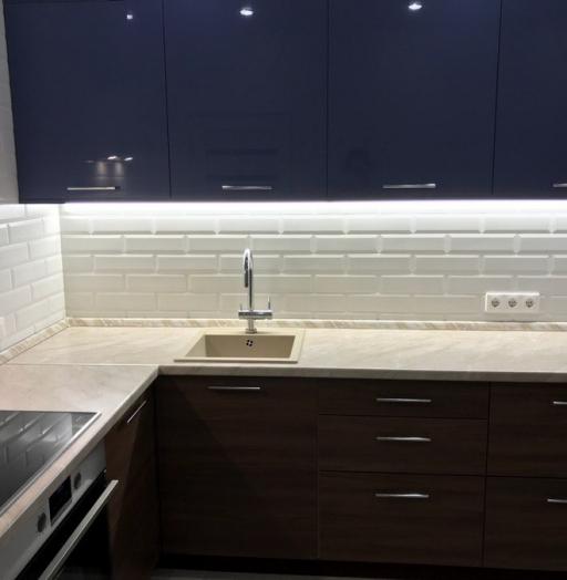 -Кухня из пластика «Модель 434»-фото8