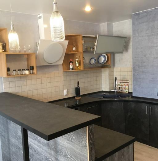 -Кухня МДФ в ПВХ «Модель 316»-фото26
