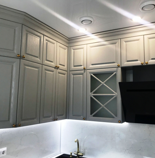 -Кухня МДФ в эмали «Модель 548»-фото23
