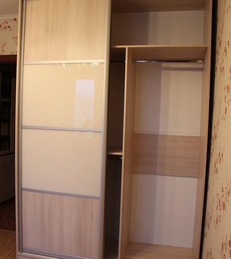 -Шкаф-купе из стекла Лакобель «Модель 21»-фото4