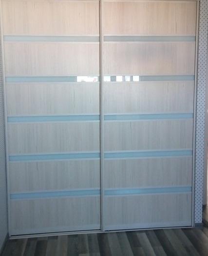 Встроенные шкафы-купе-Шкаф-купе из ЛДСП «Модель 23»-фото3
