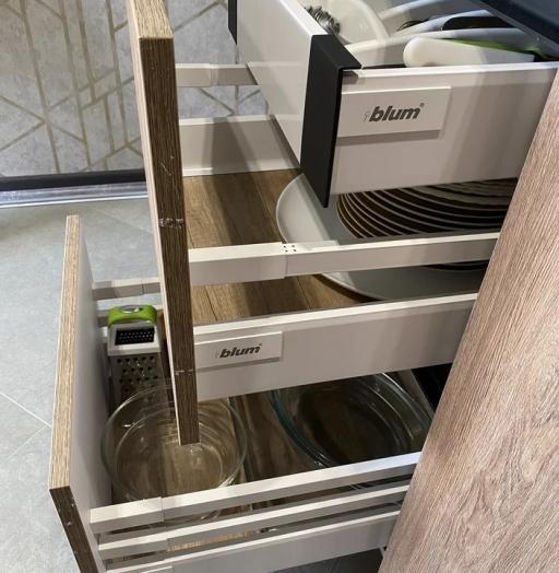 Встроенная кухня-Кухня из пластика «Модель 567»-фото6